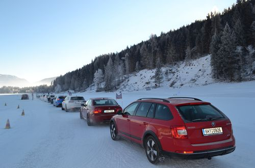 Snowdriving Lungauring 22.-23.1.2017