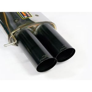 Rear exhaust Supersprint Black right 2X100mm