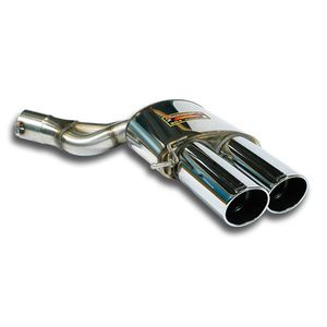 Rear exhaust Supersprint right 2X100mm