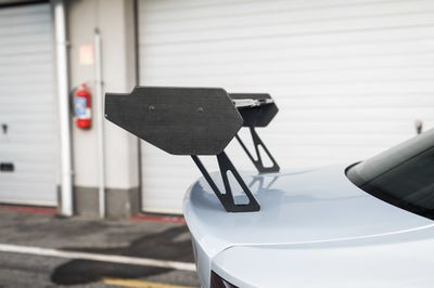 Rear carbon trunk lid GTS with M240i style rear wing