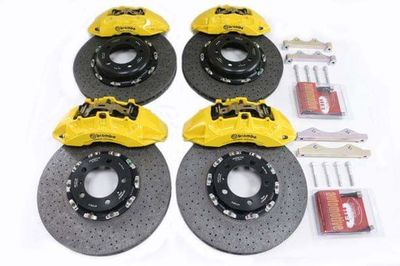 Carbon ceramic brakes Brembo - the complete kit front and rear