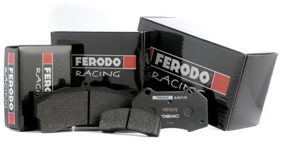 Set of rear pads Ferodo DS2500- replacement for OEM brake pads (standard steel brakes)