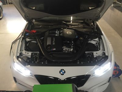 Stage 1 - Power increase to 410 + PS and 600Nm (OEM values 370PS / 500Nm)
