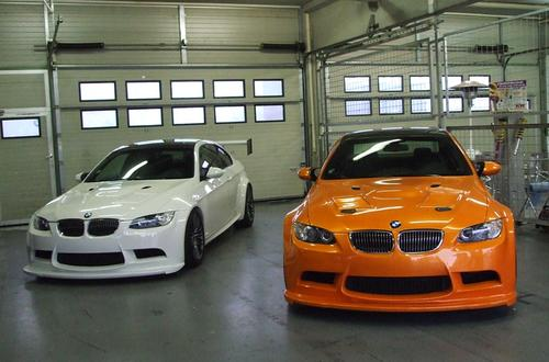 BMW M3 E92 GT4 trackday - 3