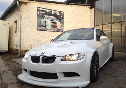 BMW M3 E92 GT4 trackday
